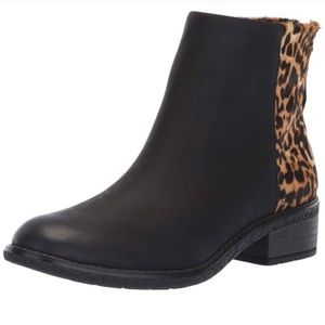 •Sperry• leopard print Maya Belle ankle boot 6